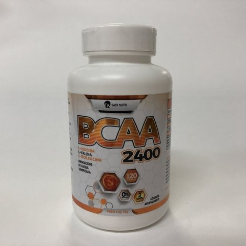 BCAA 2400 | 120 CAPS | EASY NUTRI