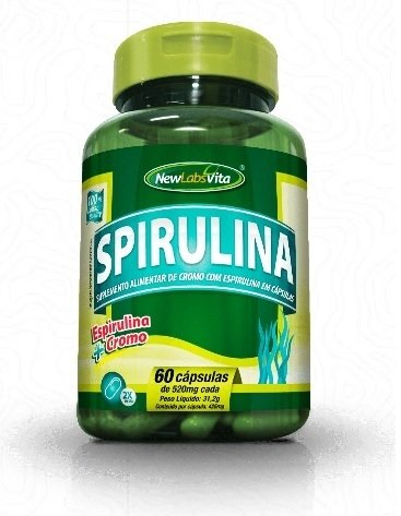 SPIRULINA | 60 CAPS x 520MG | NEW LABS VITA