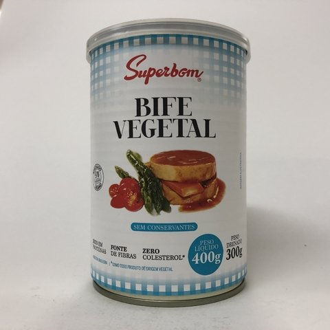 BIFE VEGETAL | 400G | SUPERBOM