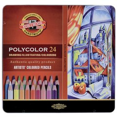 Lapices Colores Koh-i-noor Hardtmuth Polycolor X24