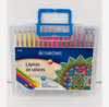 Lapices de colores Sabonis x36 maletin