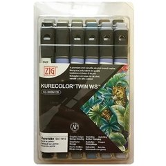 SET DE MARCADORES KURECOLOR TWIN WS 12 Warm Gray Colors