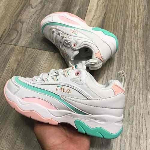 8a9872c23adc5 Tenis Zapatillas Fila Disruptor 2018 Blanca Agua Mujer