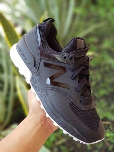2ce84d9537 Tenis Zapatillas New Balance 574 Sport Gris Negra Hombre