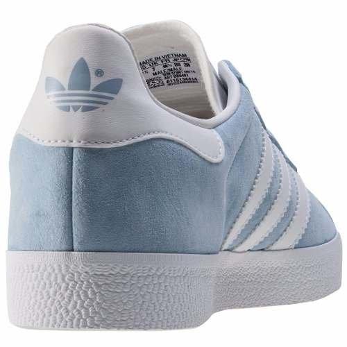 Tenis Zapatillas adidas Gazelle Azul Mujer Envio Gratis. 0% OFF 1b29373fa123a