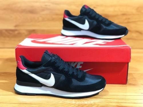 Tenis Zapatillas Nike International Negra Blanca Hombre Env 1ba60331521