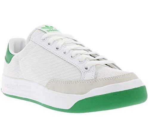 4ce1abe9cf6fc Tenis Zapatillas adidas Rod Laver Blanca Verde Hombre Env G