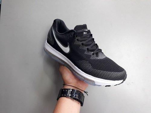 Tenis Zapatillas Nike Zoom All Out Negra Blanca Hombre Env G dab9b576570
