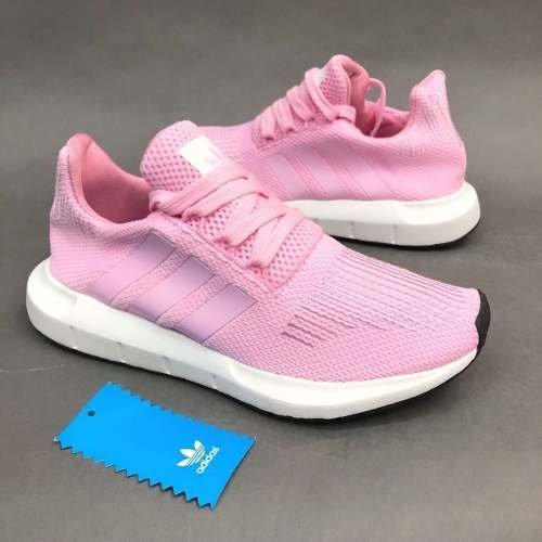 3a250958976 Tenis Zapatillas adidas Swift Run Rosada Mujer Env Gr