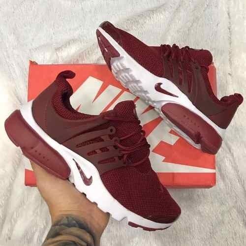 ... top quality tenis zapatillas nike air presto custom vino tinto hombre  1ae94 6a4ae 27a6e05247dfb