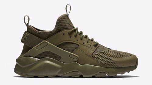 cdf2ba9adfc81 Tenis Zapatillas Nike Air Huarache Verde Militar Hombre Env