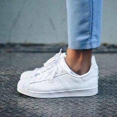 238bae13354 Tenis Zapatillas Adidas Superstar Blanca Mujer Envio Gratis. 0% OFF
