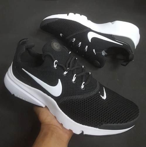 Tenis Zapatillas Nike Presto Dama Y Homb Negras Envio Gratis