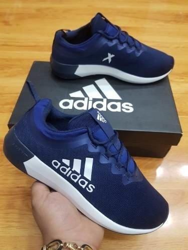 bcfe4b8e7 Tenis Zapatillas adidas X Azul Oscuro Hombre Envio Gratis
