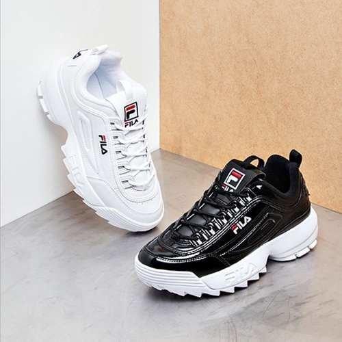 7cc99fd4043a1 Tenis Zapatillas Fila Disruptor Low Negra Mujer Envio Gratis
