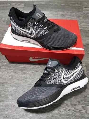 Tenis Zapatillas Nike Zoom Strike Negra Blanca Hombre Env 5d1a1079062