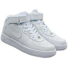 c1589f67969 Tenis Botas Zapatillas Nike Force One Blanca Hombre