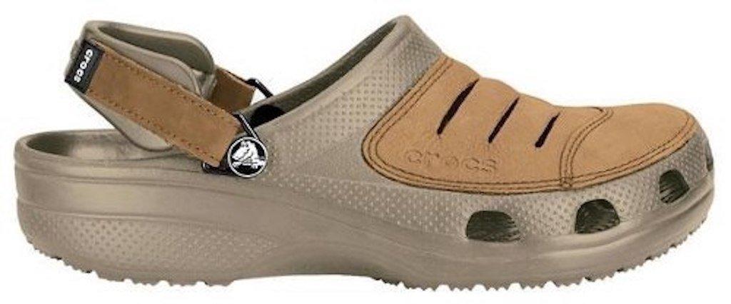 236d2bd5ebb Sandalias Crocs Yukon Cuero Ocre Hombre Envio Gratis