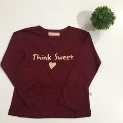 Remera Think - comprar online