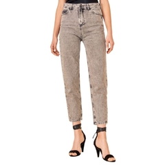 Jean Mom Fit Black Rock