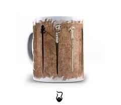 Caneca Wand Harry Potter - Barbarte Design Store