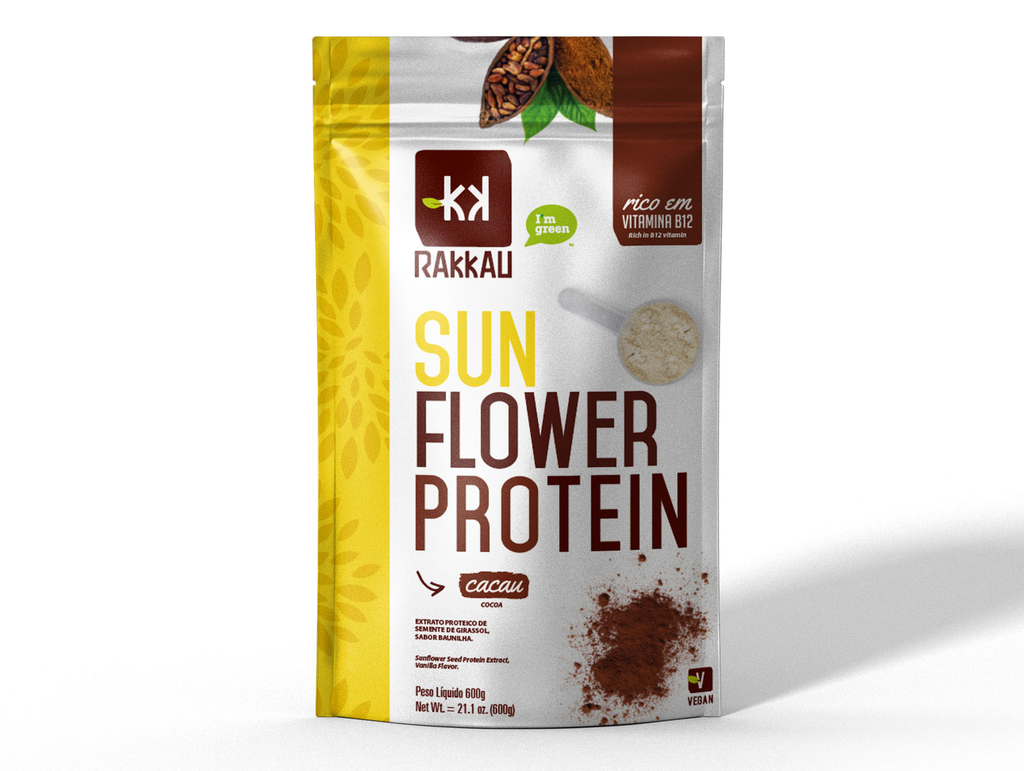 SUNFLOWER PROTEIN CACAU 600g