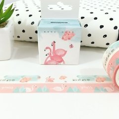 Kit Washi Tape Hello Flamingo