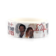 Washi Tape Grey's Anatomy