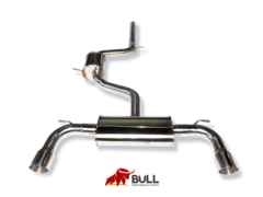 "Escape acero inoxidable CTS Turbo MK7/MK7.5 GTI 3"" Cat Back Exhaust - comprar online"