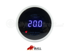 ProSport Wideband Air Fuel Ratio Digital Gauge w/O2 Sensor Blue 52mm