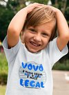 Camiseta Infantil Vovô Legal
