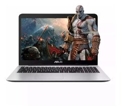 Notebook Asus Intel Dual Core 4gb 500gb 15,6 Windows Gamer
