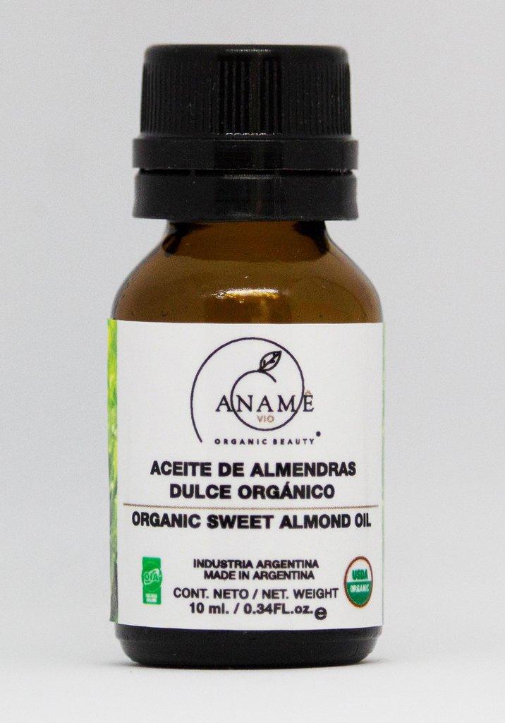 Aceite orgánico de almendra dulce