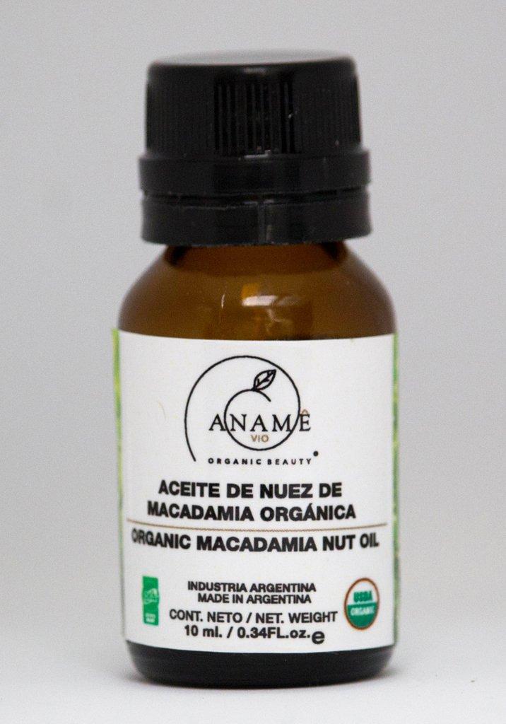 Aceite orgánico de nuez de macademia