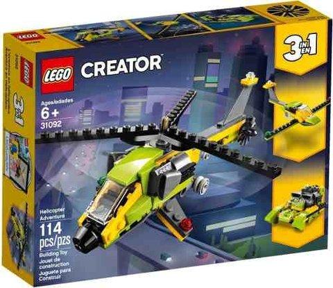 Creator Helicóptero Aventura Lego 31092 3en1 En rdexBQoCW