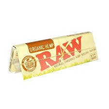 Papel para armar Raw Organic hemp 78 mm.