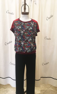 Blusa BUSITO floreado klimt en internet