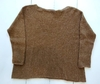 Sweater CHINO lurex camel