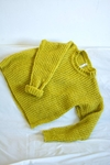 Sweater ACACIA mostaza