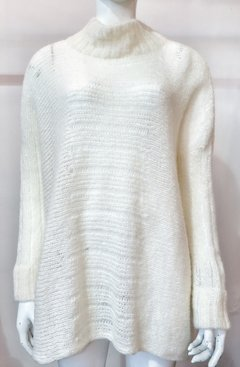 Sweater PULOVER PONCHO natural