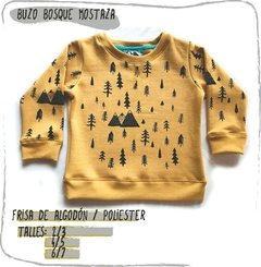 Buzo BOSQUE - Chaco Estampas