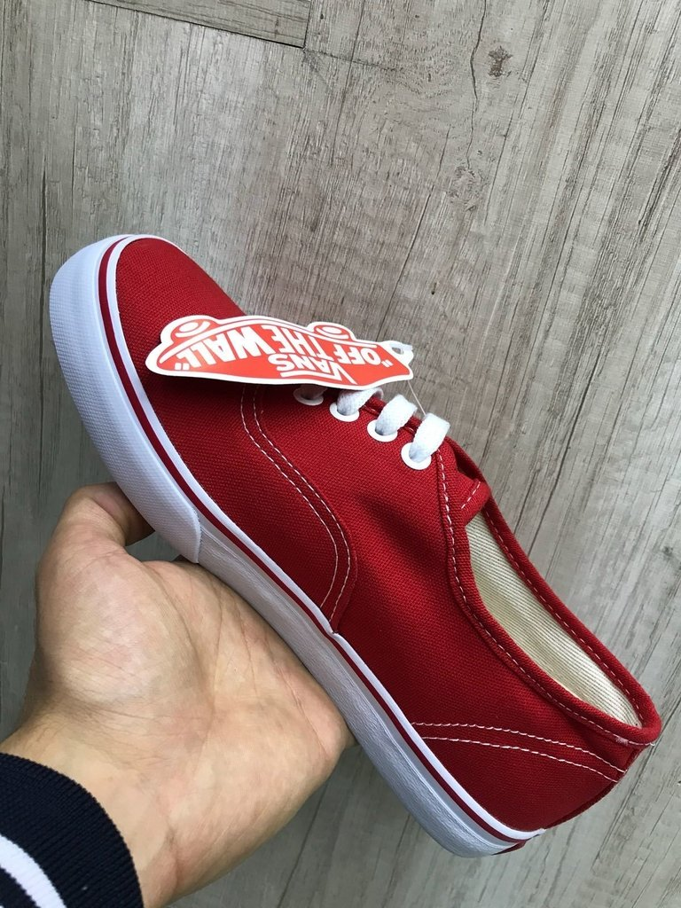 bb2c292c82a Vans authentic vermelho feminino - Mozarts Fitch Outlet
