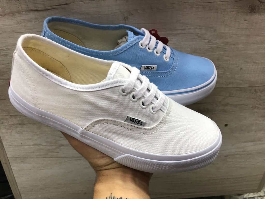 6a24142061 Vans Authentic Branco Feminino - Mozarts Fitch Outlet