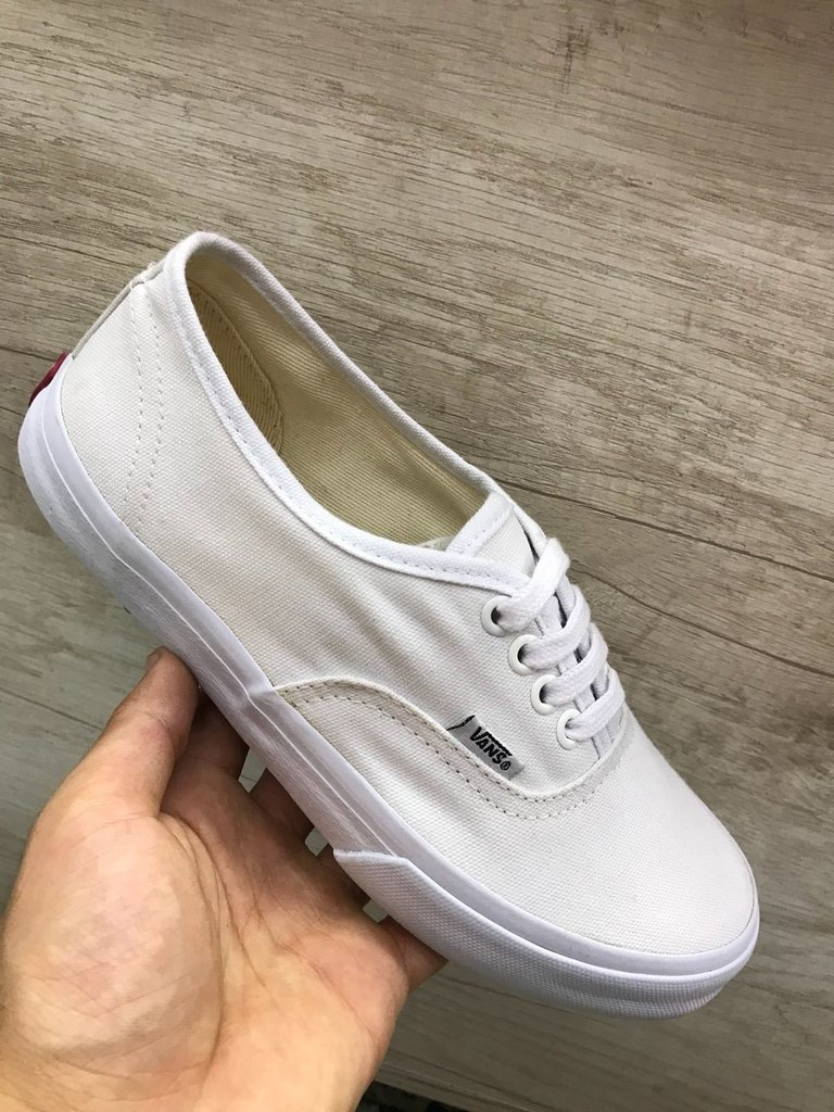 192277bb259 Vans Authentic Branco Feminino - Mozarts Fitch Outlet