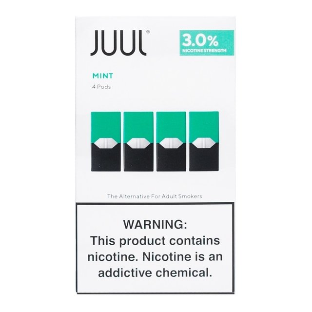 POD MINT BY JUUL LABS (4 UNIDADES)