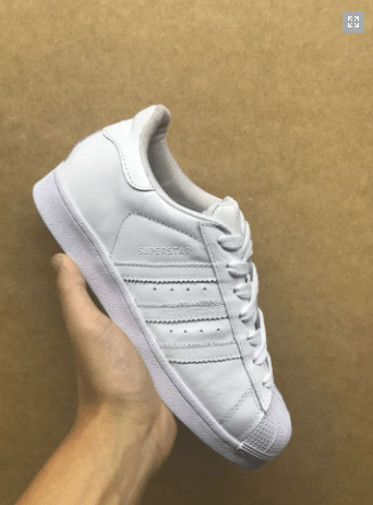 a5e829924449c Adidas Superstar branco + RELOGIO ADIDAS DE BRINDE