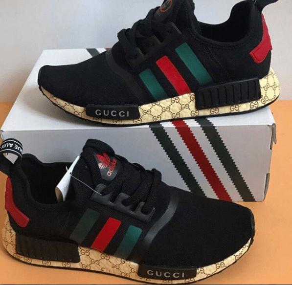 92be377885 Adidas NMD x Gucci + RELOGIO CASIO DE BRINDE