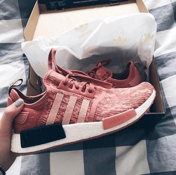 adidas nmd rosa e preto