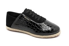 B-60-00-241 | Tenis Denim Croco Preto