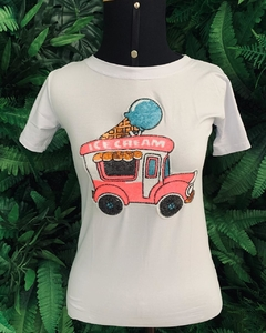 T-Shirt Ice Cream | branco